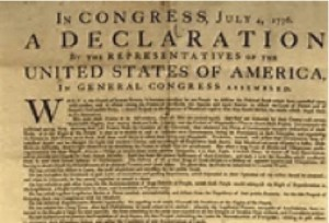 Declaration graphic