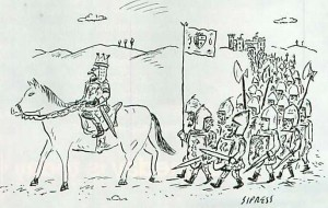 Right Wrong Crusade cartoon